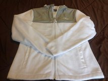 Great Fila Sport White and grey super soft fleece jacket size Medium in Fort Riley, Kansas