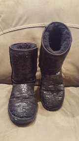 Womens Ugg Boots, Black Sequins, size 7 in Westmont, Illinois
