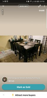 Ashley table and breakfast table in Fort Hood, Texas