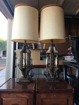 Antique lamps in Fort Irwin, California