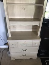 Twin bed with matching drawer/shelf in Fort Knox, Kentucky