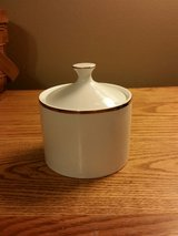 Farberware #4533 Elegance Gold sugar bowl with lid Mint Condition in Fort Leonard Wood, Missouri