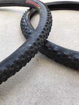 "two sets of 29"" mtn bike tires in Yucca Valley, California"