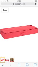 under bed wrapping paper organizer in Okinawa, Japan