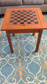 Chess board table in Okinawa, Japan