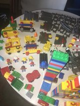 LEGO GROUP DUPLO COMPLETE TRAIN SET TRACKS AND BRICKS LARGE LOT in Fort Campbell, Kentucky