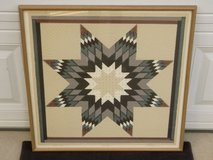 Roberta Adkins Star Quilt Signed Numbered Classic Pattern Art Print in Chicago, Illinois