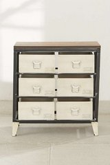 Urban Outfitter Industrial Dresser / Nightstand in Spring, Texas