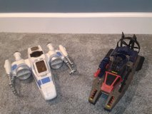 Star Wars Jet & GI Joe Boat in Naperville, Illinois