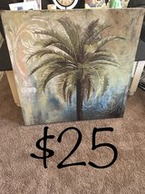 Palm Tree wall canvas in Alexandria, Louisiana