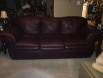 LazyBoy Leather Couch in New Lenox, Illinois