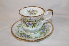 Bone China Teacup and Saucer in Fort Rucker, Alabama