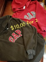 Boys 2 Hoodies GAP size 8 in Clarksville, Tennessee
