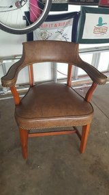 (2) Leather chairs - Elburn in St. Charles, Illinois
