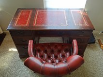 Red-leather desk (Only the Desk) in Fairfax, Virginia