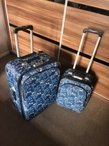 Suitcase set. One  large size and one small  cabin size in Lakenheath, UK