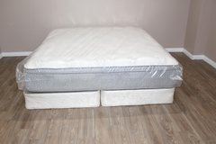 King Size Mattress Set - Restonic Comfort Care Select - Kingston in CyFair, Texas