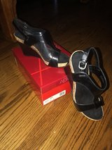 Aerosoles Black Sandals in Glendale Heights, Illinois