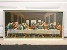 "The Last Supper Paint-by-Number 15x32""  Framed 1963 Craft Master Design in Chicago, Illinois"