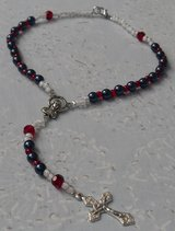 Houston Texan Rosary Auto Style with Clasp in Kingwood, Texas