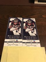 Cowboys/Texans Ticket plus Blue Parking pass in Kingwood, Texas