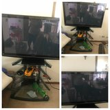 """55"""" TV W/Glass Stand $250 WORKS GREAT in Bolingbrook, Illinois"""