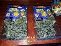 Army men in Vacaville, California