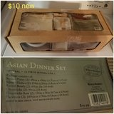 Asian dinner set in Vacaville, California