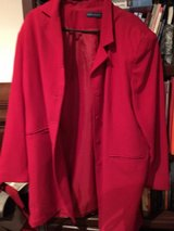Red Business Jacket in Ramstein, Germany