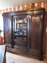 Office - Set , Bookcase, Desk and Chair  circa 1900 in Ramstein, Germany