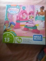 Nib shimmer and shine megabloks set in Camp Lejeune, North Carolina