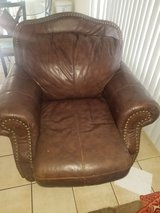 leather love seat in Oceanside, California