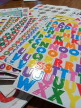 letter stickers lot in St. Charles, Illinois