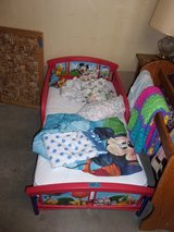 Disney Mickey and Friends Toddler Bed Set in Fort Riley, Kansas