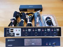 4-Port HDMI Multimedia KVM Switch in Hohenfels, Germany