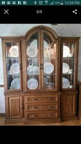 FREE! Beautiful Etched Glass Hutch and Server (Glen Ellyn) in Naperville, Illinois
