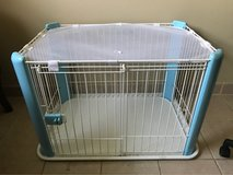 Dog cage in Fort Sam Houston, Texas