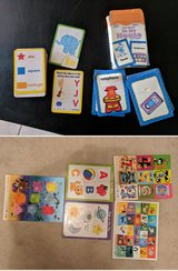 Puzzles and flash cards in Camp Pendleton, California