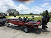 LOADED 2014 Bass Tracker Pro Team 175 TXW with 75HP Mercury OptiMax in Camp Lejeune, North Carolina