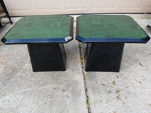 "(2) Wooded Side Table 22""x22""x24"" in The Woodlands, Texas"