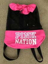 Brand New pink mesh sackpack by Victoria's Secret in Travis AFB, California