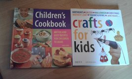 Children's cook book & craft book in Lakenheath, UK