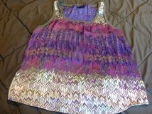 Ana silky XL dressy tank top very pretty in Fort Riley, Kansas