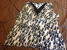 Dressy animal print tank top XL East 5th in Fort Riley, Kansas