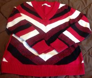 XL Liz Claiborne red sweater pullover in Fort Riley, Kansas