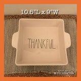 New Rae Dunn THANKFUL Casserole Dish in Hampton, Virginia