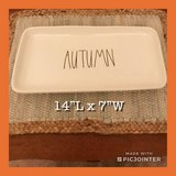 New Rae Dunn Large AUTUMN Platter in Hampton, Virginia