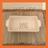 Rae Dunn New SHARE Loaf Dish in Gloucester Point, Virginia