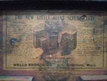 1800's Little Giant tap and die set in Hinesville, Georgia