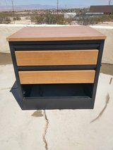 solid metal cabinet with two drawers in 29 Palms, California